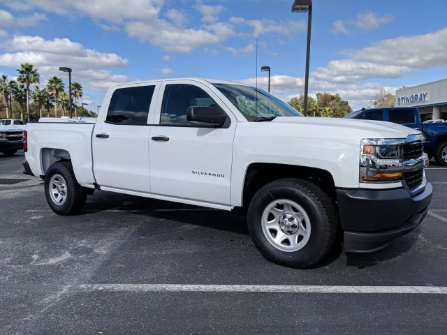 2018 Silverado 1500 Crew Cab 4x2,  Pickup #JG624925 - photo 4