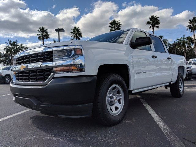 2018 Silverado 1500 Crew Cab 4x2,  Pickup #JG624925 - photo 8