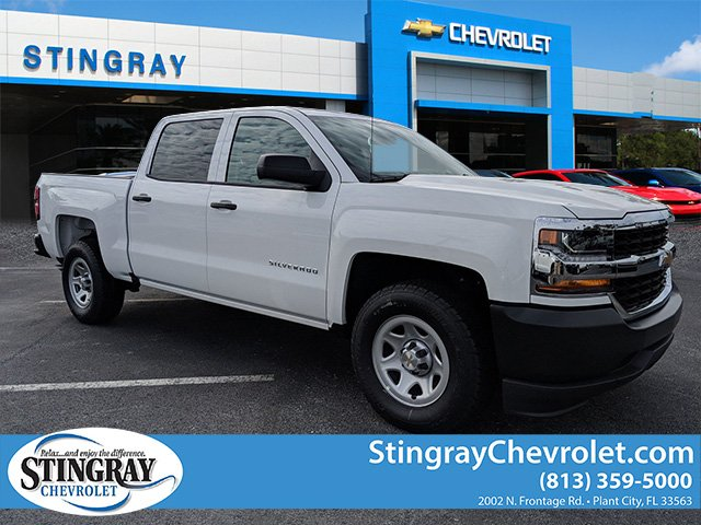 2018 Silverado 1500 Crew Cab 4x2,  Pickup #JG624970 - photo 1