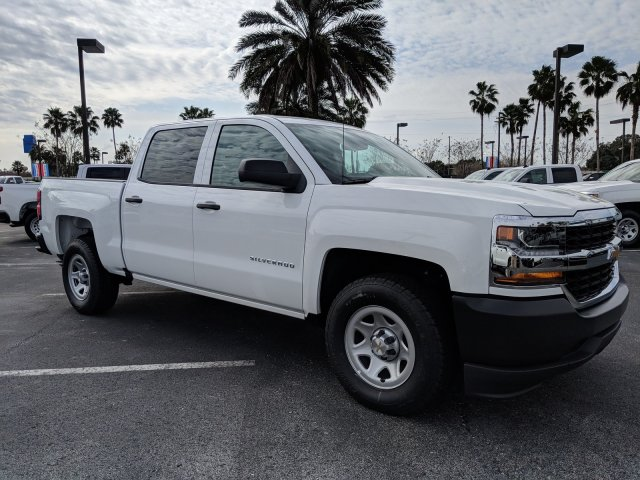 2018 Silverado 1500 Crew Cab 4x2,  Pickup #JG624970 - photo 3