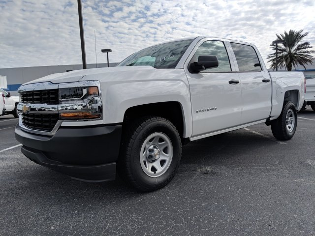 2018 Silverado 1500 Crew Cab 4x2,  Pickup #JG624970 - photo 8
