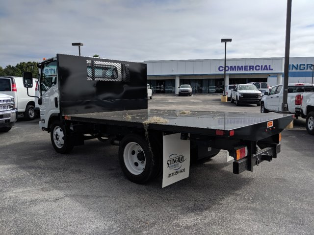 2018 LCF 4500 Regular Cab 4x2, Action Fabrication Platform Body #JS805040 - photo 6
