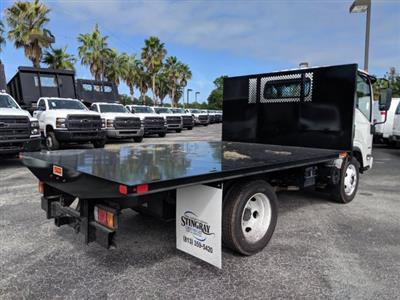 2018 LCF 4500 Regular Cab 4x2, Action Fabrication Platform Body #JS805040 - photo 2