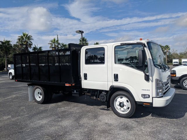 2018 LCF 4500 Crew Cab 4x2,  Action Fabrication Landscape Dump #JS805223 - photo 4