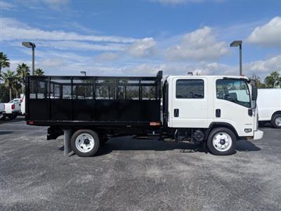 2018 LCF 4500 Crew Cab 4x2,  Action Fabrication Landscape Dump #JS805223 - photo 3