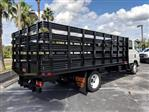 2018 LCF 4500 Crew Cab 4x2,  Action Fabrication Stake Bed #JS805874 - photo 2