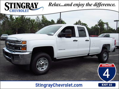 2018 Silverado 2500 Double Cab 4x4, Pickup #JZ118001 - photo 1