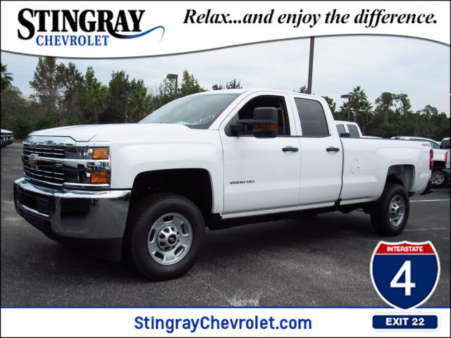 2018 Silverado 2500 Double Cab 4x4, Pickup #JZ126107 - photo 1