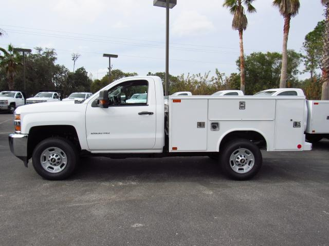 2018 Silverado 2500 Regular Cab 4x4, Reading Service Body #JZ130946 - photo 3