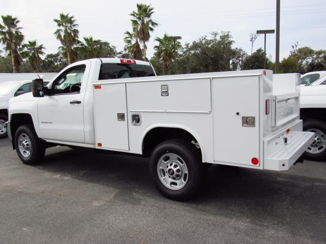 2018 Silverado 2500 Regular Cab 4x4, Reading Service Body #JZ130946 - photo 2