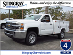 2018 Silverado 2500 Regular Cab 4x4, Reading Service Body #JZ130946 - photo 1