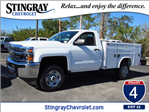 2018 Silverado 2500 Regular Cab, Reading Service Body #JZ164754 - photo 1