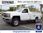 2018 Silverado 2500 Regular Cab, Reading Service Body #JZ170931 - photo 1