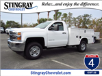 2018 Silverado 2500 Regular Cab, Knapheide Service Body #JZ173908 - photo 1