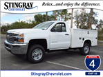 2018 Silverado 2500 Regular Cab, Knapheide Service Body #JZ177168 - photo 1