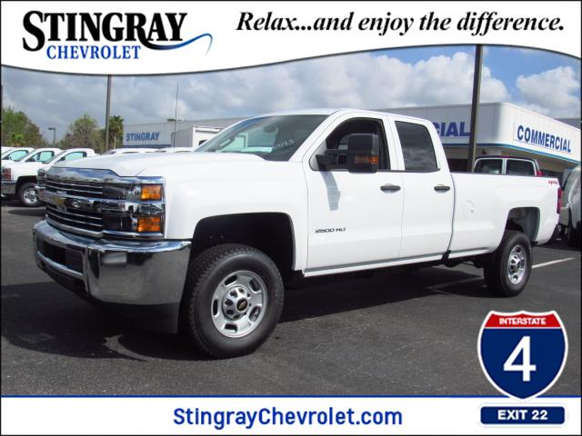 2018 Silverado 2500 Double Cab 4x4, Pickup #JZ235093 - photo 1