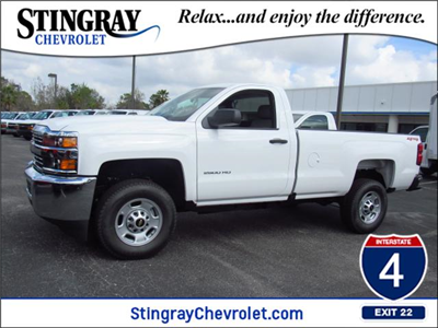 2018 Silverado 2500 Regular Cab 4x4, Pickup #JZ241380 - photo 1