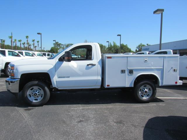 2018 Silverado 2500 Regular Cab,  Service Body #JZ242866 - photo 3
