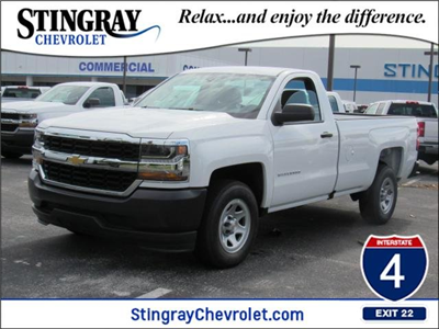 2018 Silverado 1500 Regular Cab 4x2,  Pickup #JZ276928 - photo 1