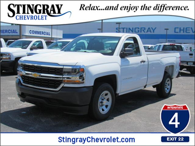 2018 Silverado 1500 Regular Cab,  Pickup #JZ305187 - photo 1