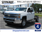 2018 Silverado 2500 Double Cab 4x4,  Cab Chassis #JZ345819 - photo 1