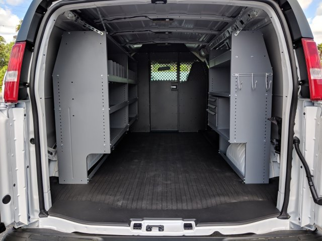 2019 Express 2500 4x2,  Masterack General Service Upfitted Cargo Van #K1198596 - photo 2