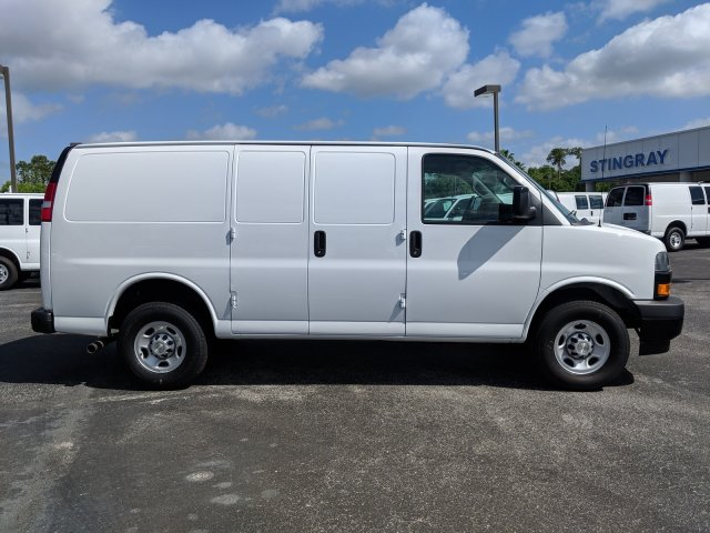 2019 Express 2500 4x2,  Masterack Steel General Service Upfitted Cargo Van #K1198663 - photo 5