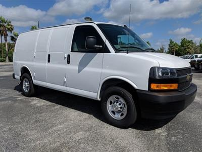 2019 Express 2500 4x2,  Masterack Steel General Service Upfitted Cargo Van #K1198663 - photo 4