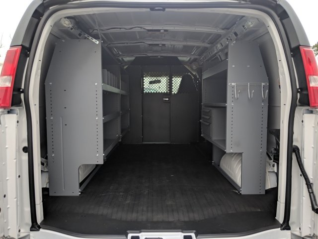 2019 Express 2500 4x2,  Masterack Steel General Service Upfitted Cargo Van #K1200884 - photo 2