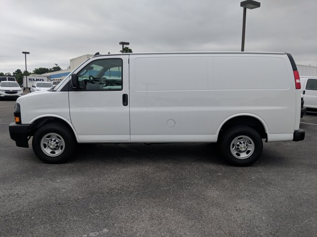 2019 Express 2500 4x2,  Masterack Steel General Service Upfitted Cargo Van #K1200884 - photo 9