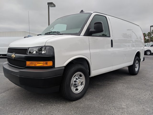 2019 Express 2500 4x2,  Masterack General Service Upfitted Cargo Van #K1200884 - photo 10