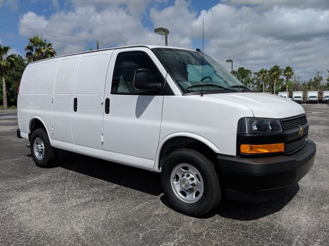 2019 Express 2500 4x2,  Masterack Steel General Service Upfitted Cargo Van #K1201419 - photo 4