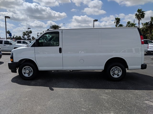 2019 Express 2500 4x2,  Masterack Steel General Service Upfitted Cargo Van #K1201419 - photo 8