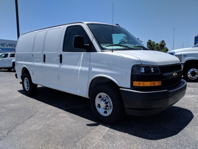 2019 Express 2500 4x2,  Masterack Steel General Service Upfitted Cargo Van #K1201594 - photo 4