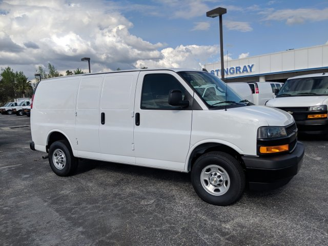 2019 Express 2500 4x2,  Masterack Steel General Service Upfitted Cargo Van #K1214781 - photo 4