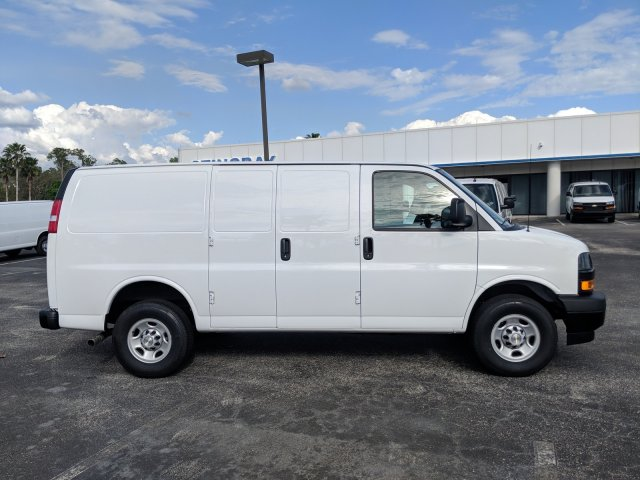2019 Express 2500 4x2,  Masterack Steel General Service Upfitted Cargo Van #K1214781 - photo 5