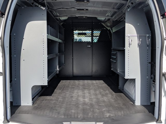 2019 Express 2500 4x2, Masterack Upfitted Cargo Van #K1214781 - photo 1