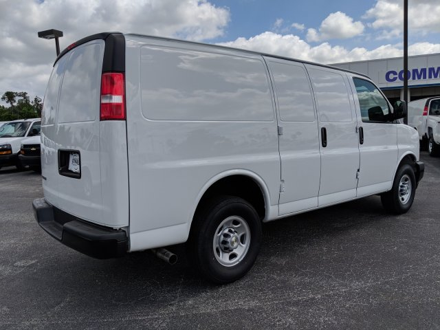 2019 Express 2500 4x2,  Masterack Steel General Service Upfitted Cargo Van #K1216827 - photo 6