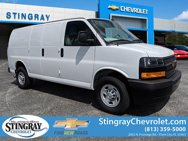 2019 Chevrolet Express 2500 4x2, Masterack Steel General Service Upfitted Cargo Van #K1216827 - photo 1