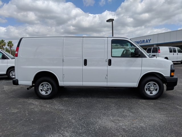 2019 Express 2500 4x2,  Masterack Steel General Service Upfitted Cargo Van #K1216827 - photo 4