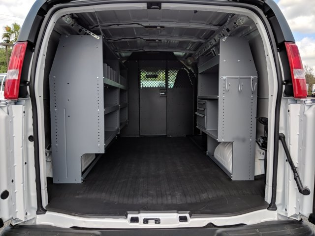 2019 Chevrolet Express 2500 4x2, Masterack Steel General Service Upfitted Cargo Van #K1216827 - photo 2