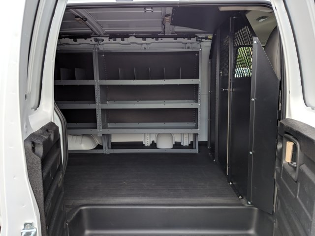 2019 Chevrolet Express 2500 4x2, Masterack Steel General Service Upfitted Cargo Van #K1216827 - photo 14