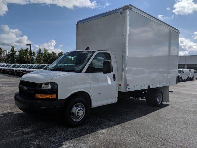 2019 Express 3500 4x2,  J&B Truck Body Cutaway Van #K1229078 - photo 8