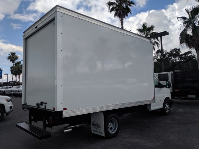 2019 Express 3500 4x2,  J&B Truck Body Cutaway Van #K1230295 - photo 2