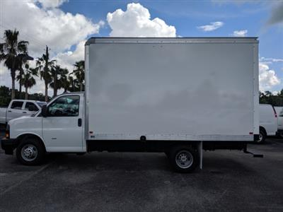 2019 Express 3500 4x2,  J&B Truck Body Cutaway Van #K1230295 - photo 3