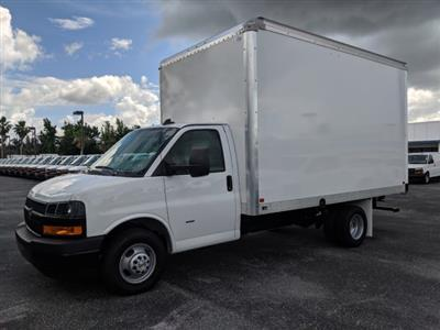 2019 Express 3500 4x2,  J&B Truck Body Cutaway Van #K1230295 - photo 8