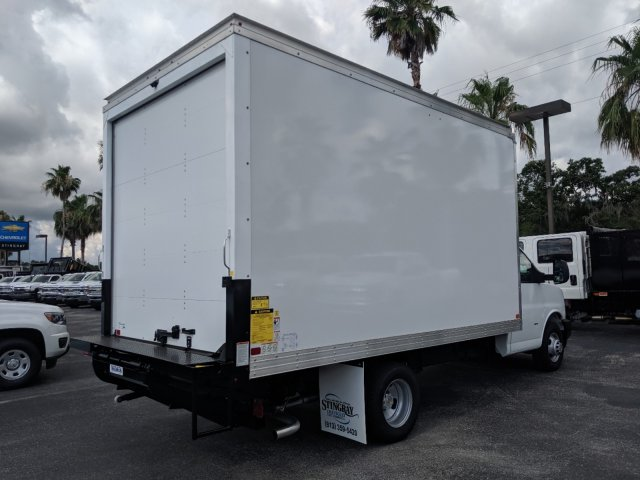 2019 Express 3500 4x2,  J&B Truck Body Cutaway Van #K1230323 - photo 1