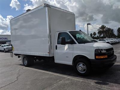 2019 Express 3500 4x2,  J&B Truck Body Cutaway Van #K1230323 - photo 5