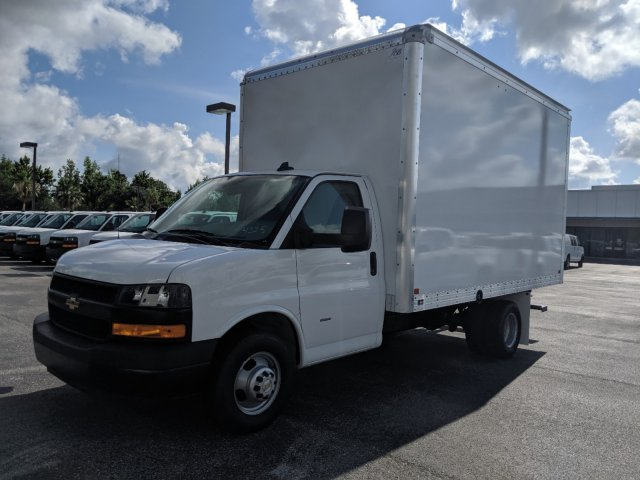 2019 Express 3500 4x2,  J&B Truck Body Cutaway Van #K1234225 - photo 8