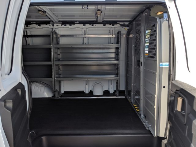 2019 Express 2500 4x2,  Adrian Steel Commercial Shelving Upfitted Cargo Van #K1260303 - photo 14